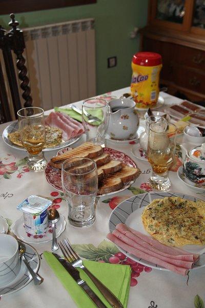 Omelette, ham, yogurt, natural or Greek (or fruit to choose)
