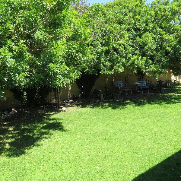 Jardín privado.
