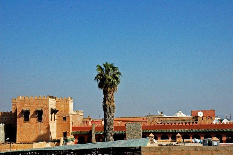 Vista do roof-terraço