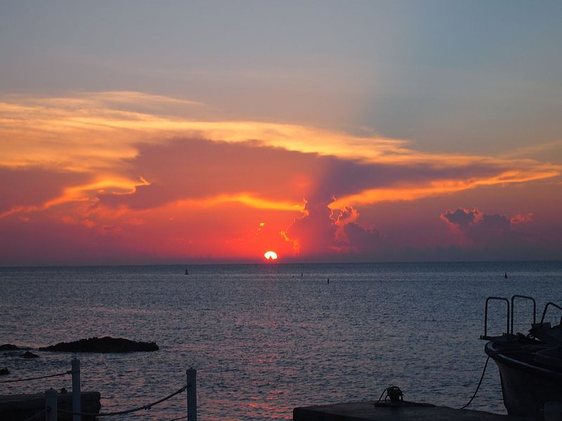 Sunset and Sunrises can be enjoyed from our Beach