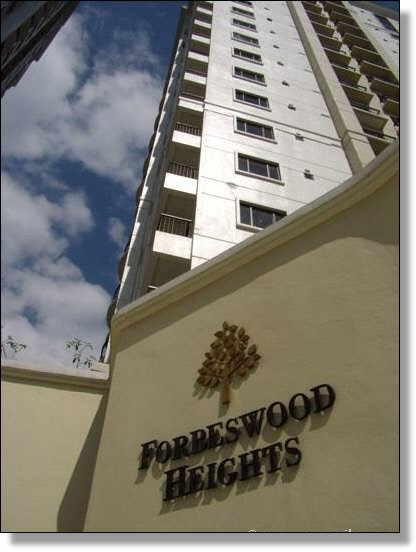 Forbes Wood Heights secured main gate