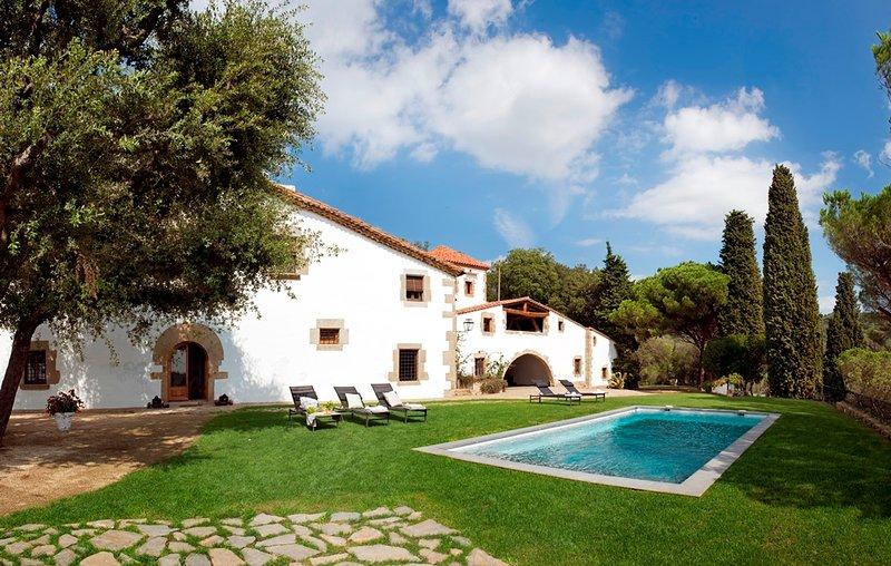 Masia Restaurada en Mayo del 2016 Ideal familias, location de vacances à Sant Pere de Vilamajor