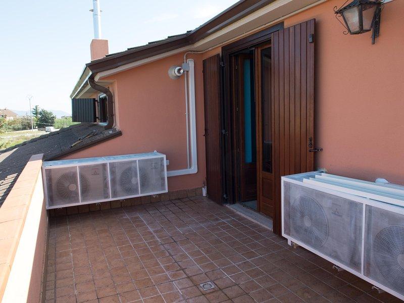 Riviera room (private terrace)