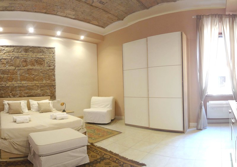 Other picture of the bedroom. The bedroom is very confortable. There is also a sofà bed