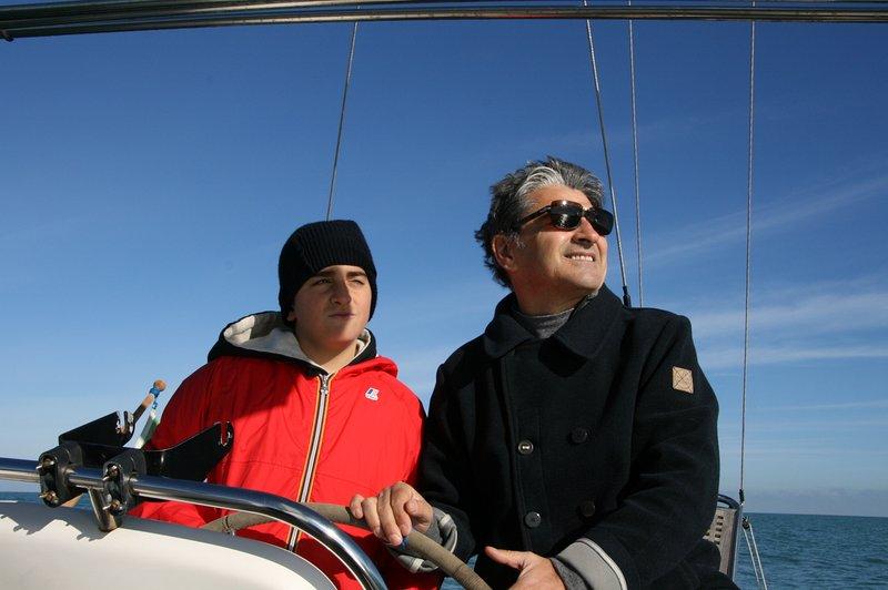 El capitán y la joven estudiante
