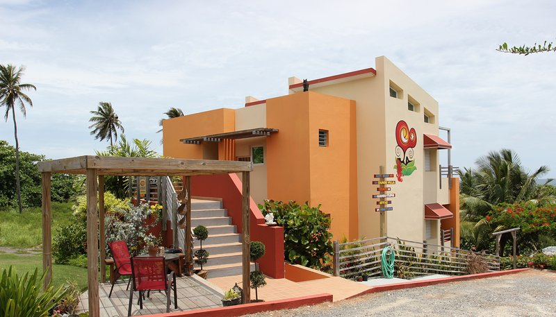 Fusion Beach Villas Boutique Suite - Stay*Love*Play at Jobos Beach in Isabela PR, holiday rental in San Antonio