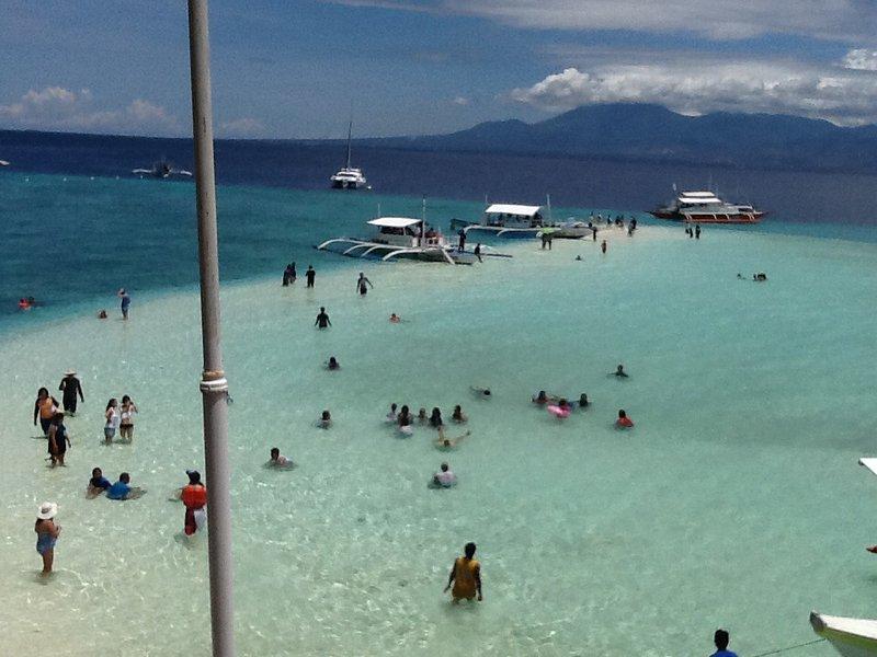 Sumilon Island playa de arena blanca se puede arreglar