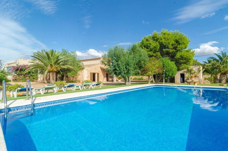 TORRE MARINA (ALGA MARINA) - Villa for 10 people in ses Covetes, location de vacances à Sa Rapita