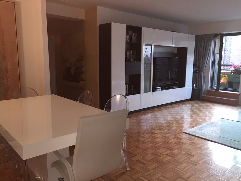Dining/ Living area with access to balcony
