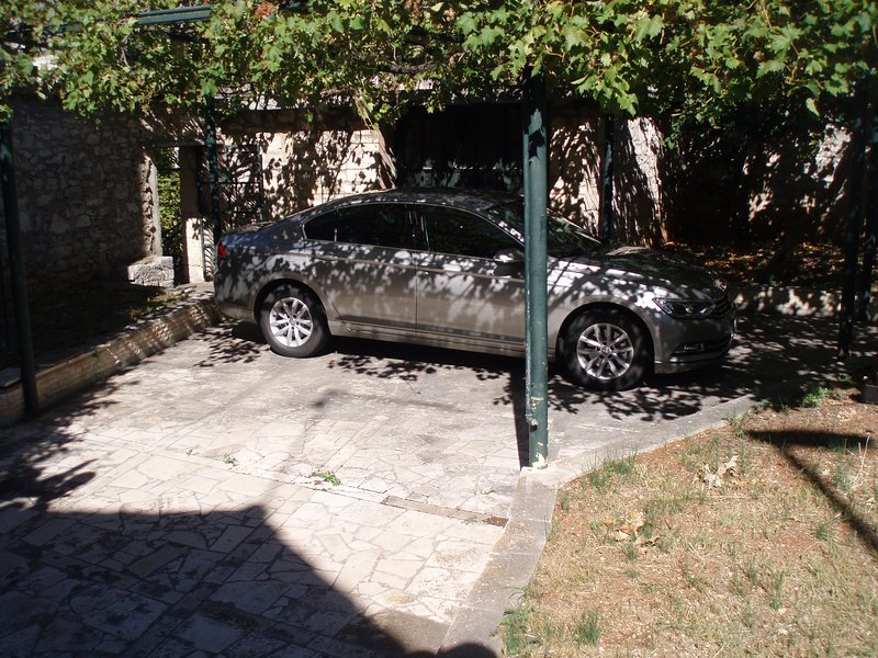 Privater Parkplatz