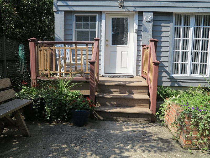 Entrance to Cottage A