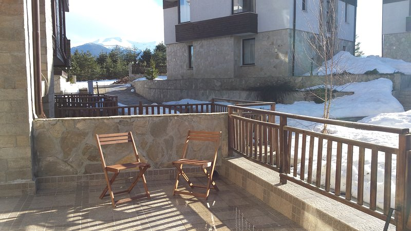 Apt 101 - 2 Bedroom Apartment with large terrace, vacation rental in Borovets