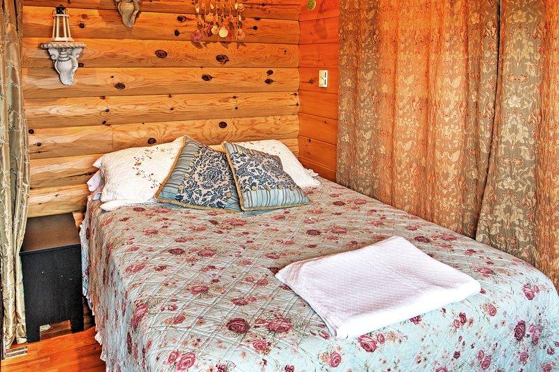Esperamos que el sueño de una gran noche en esta cama de matrimonio.