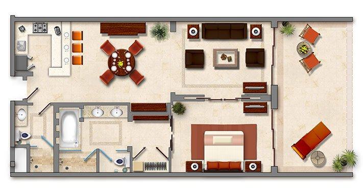 Suite Master 1 Chambre