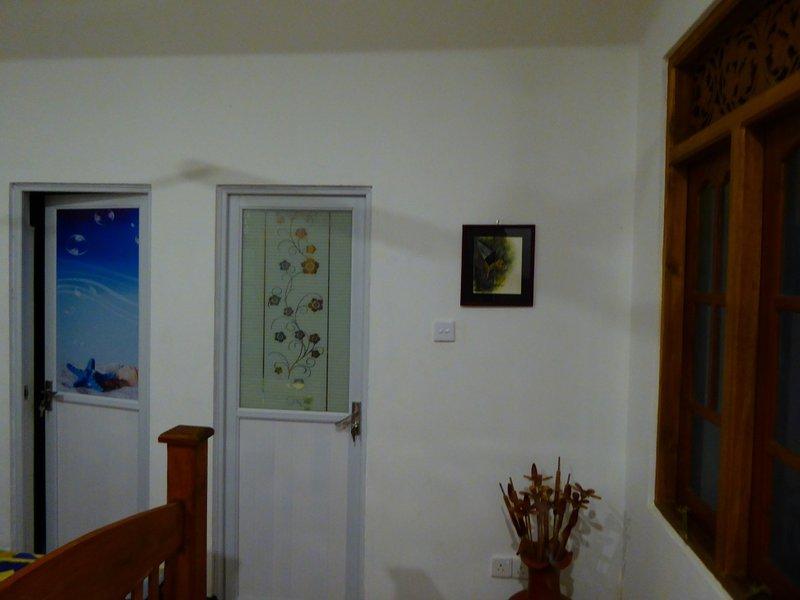 Garden suite at ground floor: Inside view