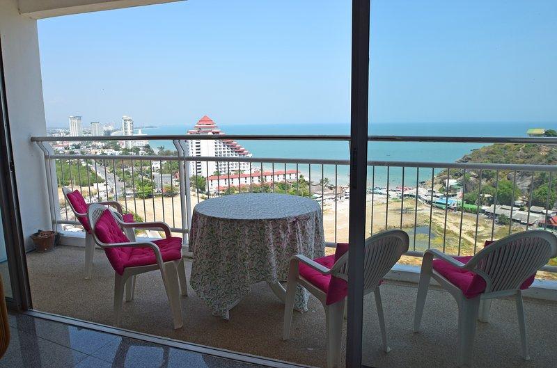 Condo balcon avec vue sur Hua Hin et Cha Am ...