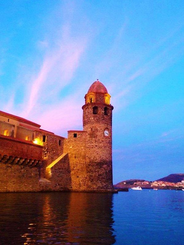 Une autre vue de la soirée du vieux phare