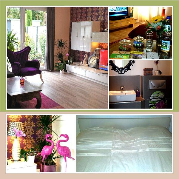 King size bed, own bathroom, garden. FREE PARKING., vacation rental in Dietzenbach
