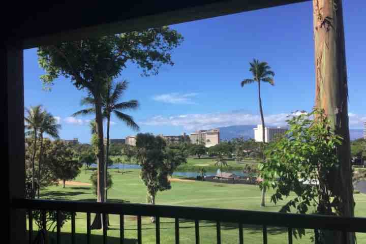 Peaceful with panoramic golf course and ocean views - 2 Kaanapali Golf Courses - Kaanapali Royal N-202