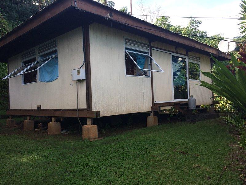Meerblick Huahine Ferienwohnung
