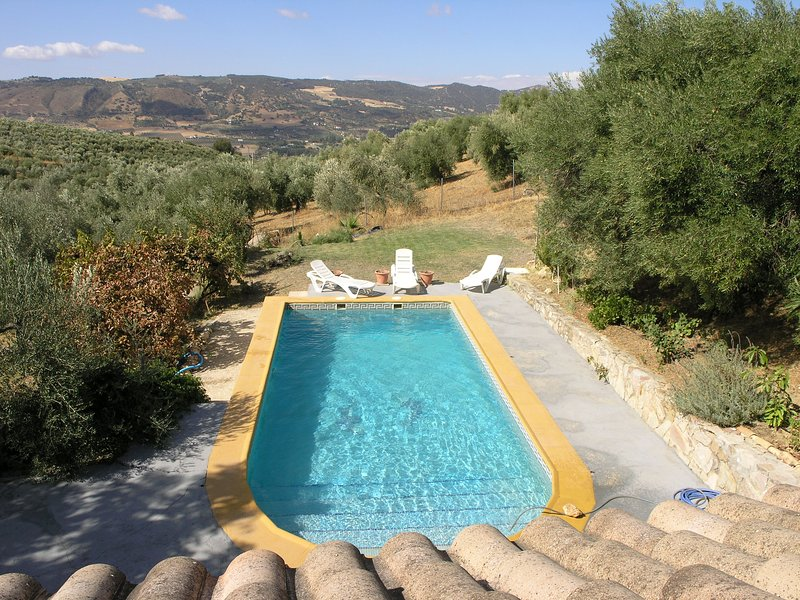 Chic Country Casa with pool - one km from Ronda, vacation rental in Montejaque