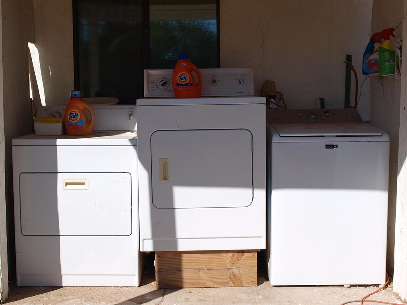 Washer & dryer for our guest's use