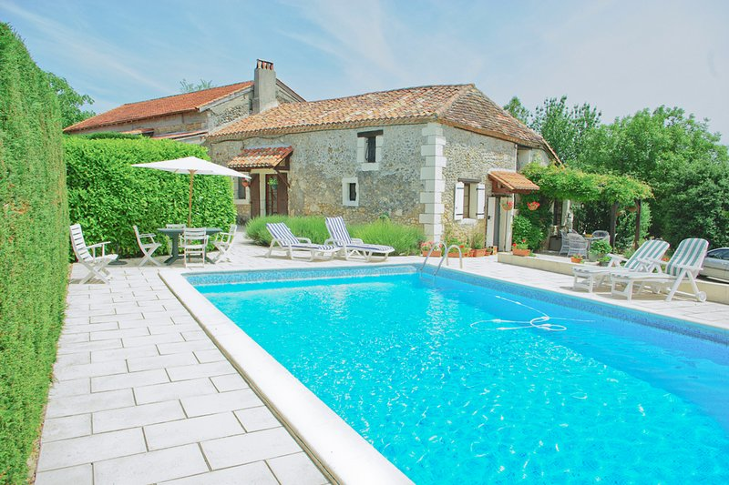 The Farmhouse and private pool