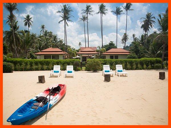 Villa 112 - Quiet sandy beach great for families, vacation rental in Laem Set