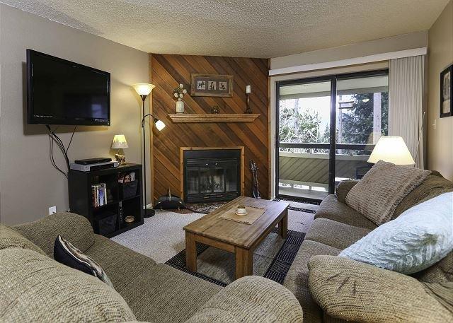Grandview 19C Living Area Breckenridge Lodging Case per le vacanze