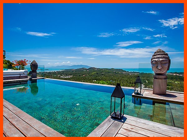 Villa 115 - Fantastic views with Thai chef service, holiday rental in Choeng Mon