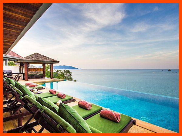 Villa 36 - Fantastic sea views with continental breakfast included, vacation rental in Choeng Mon