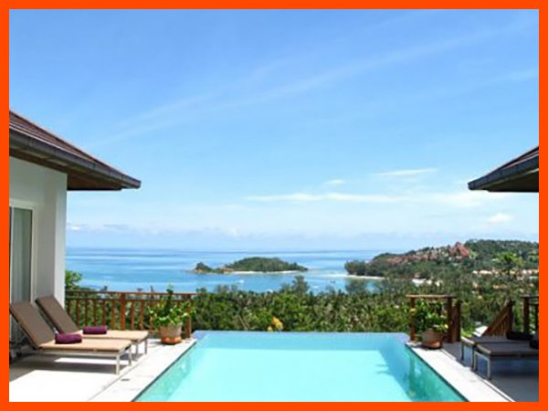 Villa 69 - Walk to beach swim play drink eat sleep walk to villa jump in pool, holiday rental in Choeng Mon