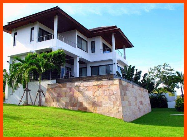 Villa 59 - Infinity edge pool and fantastic sea views, holiday rental in Choeng Mon