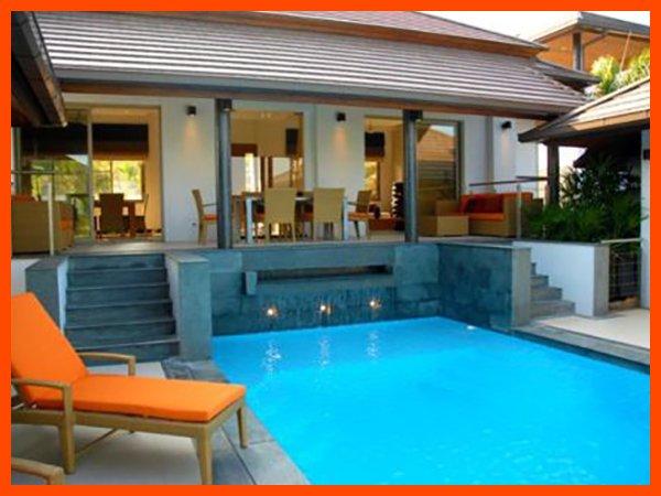 Villa 77 - Infinity edge pool and fantastic sea views, holiday rental in Choeng Mon