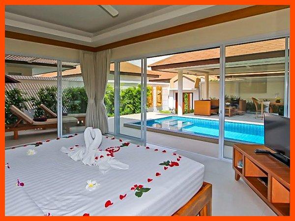 Villa 86 - Perfect honeymoon villa with private pool, alquiler vacacional en Plai Laem