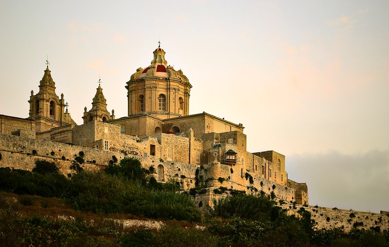 Mdina, Malta's Old Capital City, Just 20 Minutes By Bus.