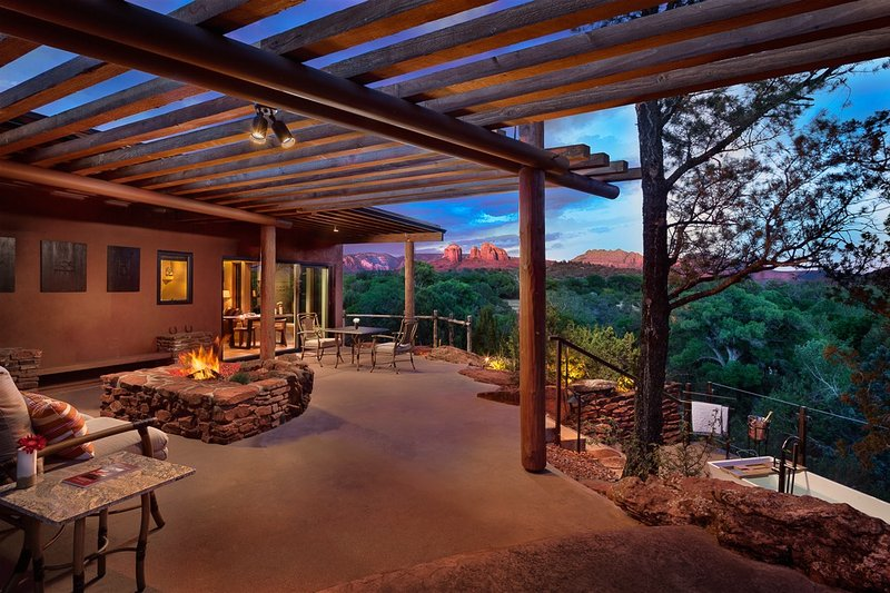 Safe Social Distancing at Sun Cliff - Sedona's only Luxury Resort for Two, vacation rental in Sedona