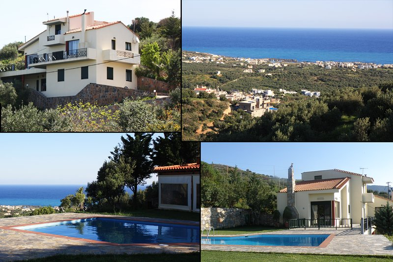 Private stay 'Iliothea' in Milatos Crete up to 15, holiday rental in Epano Sisi
