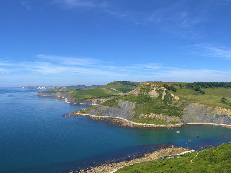 Nearby Chapmans Pool and the Jurassic Coast - walk from your front door