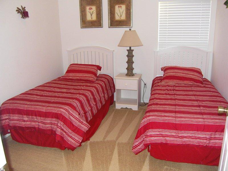 Twin Bedroom #2