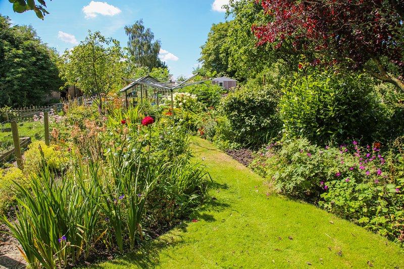 Pretty garden to sit in