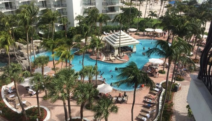 Marriott 39 s aruba surf club has washer and waterfront - Marriott aruba surf club 2 bedroom villa ...
