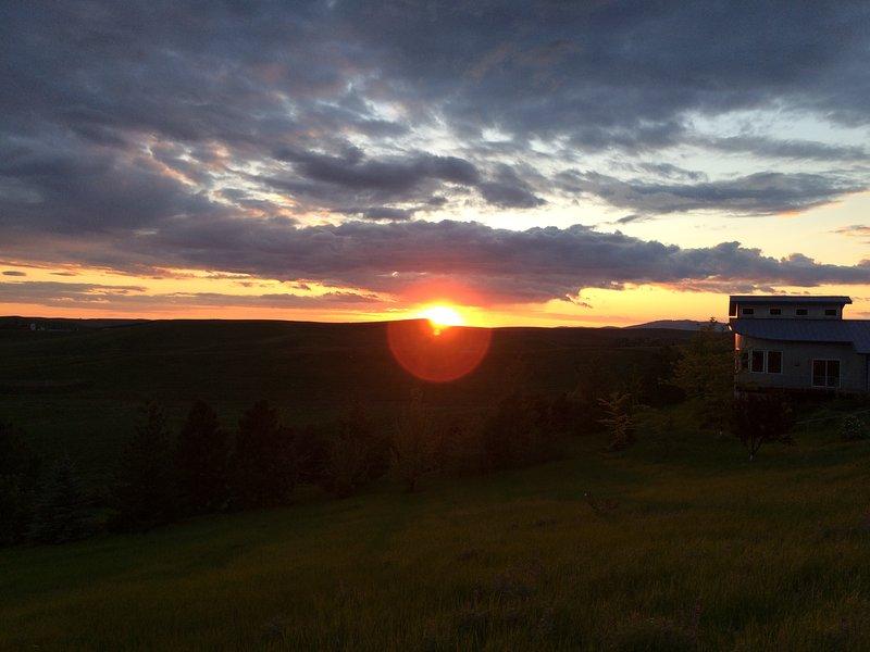 Breathtaking sunset views