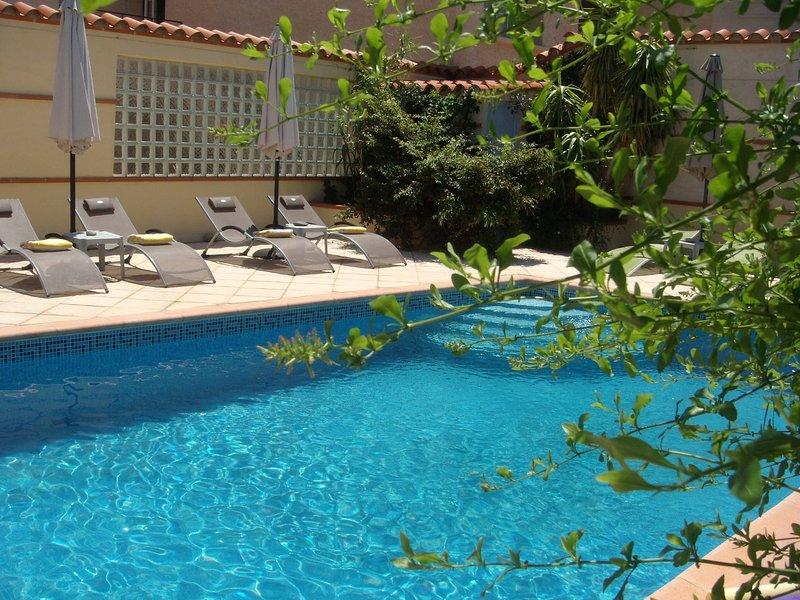 Mas Grandiflora, L'Hibiscus, holiday rental in Peyrestortes