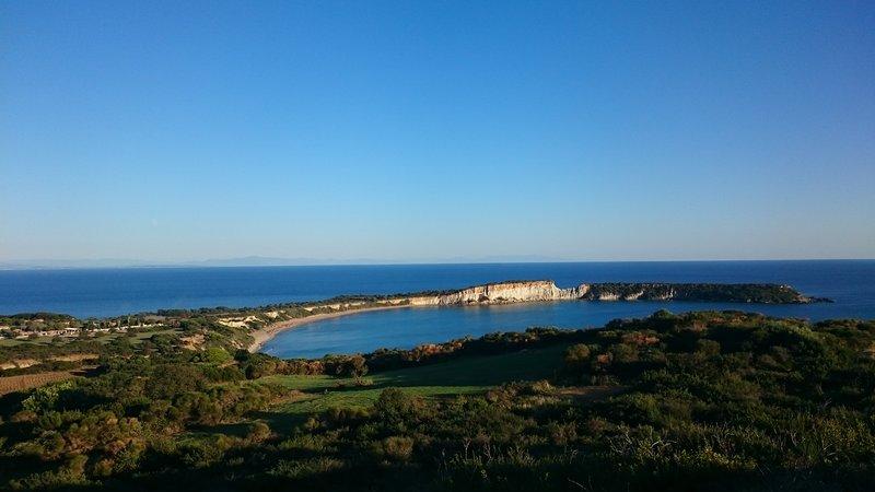 Praia Gerakas 3 km. distância a partir do alojamento