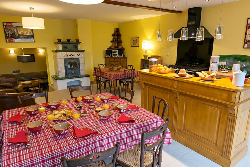 Au gré des Châteaux, chambre Spesbourg, location de vacances à Bernardswiller