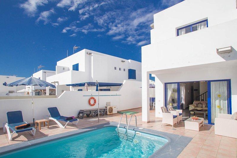 Casa Roper - Lovely villa close to Marina Rubicon, alquiler de vacaciones en Lanzarote