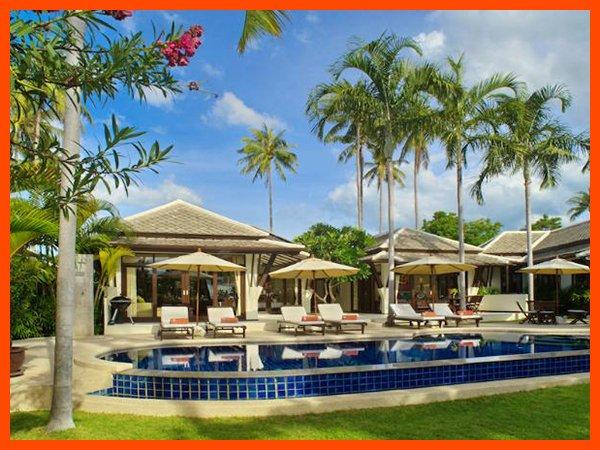 Villa 10 - Great value beach front villa with private pool, alquiler vacacional en Plai Laem