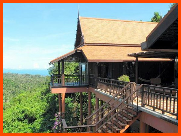 Villa 11 - Authentic Thai house (2 BR option), holiday rental in Mae Nam