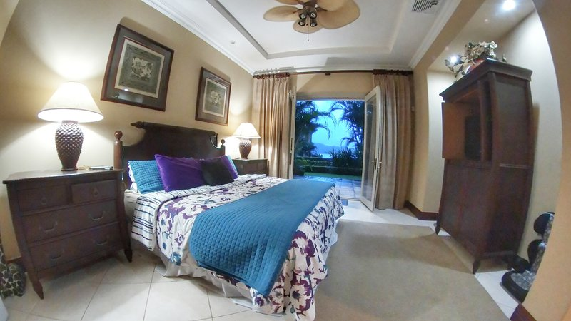 Master Bed with king bed and ocean view